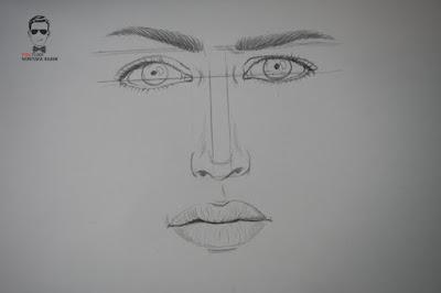 تعلم رسم بورتريه مع التظليل بالرصاص