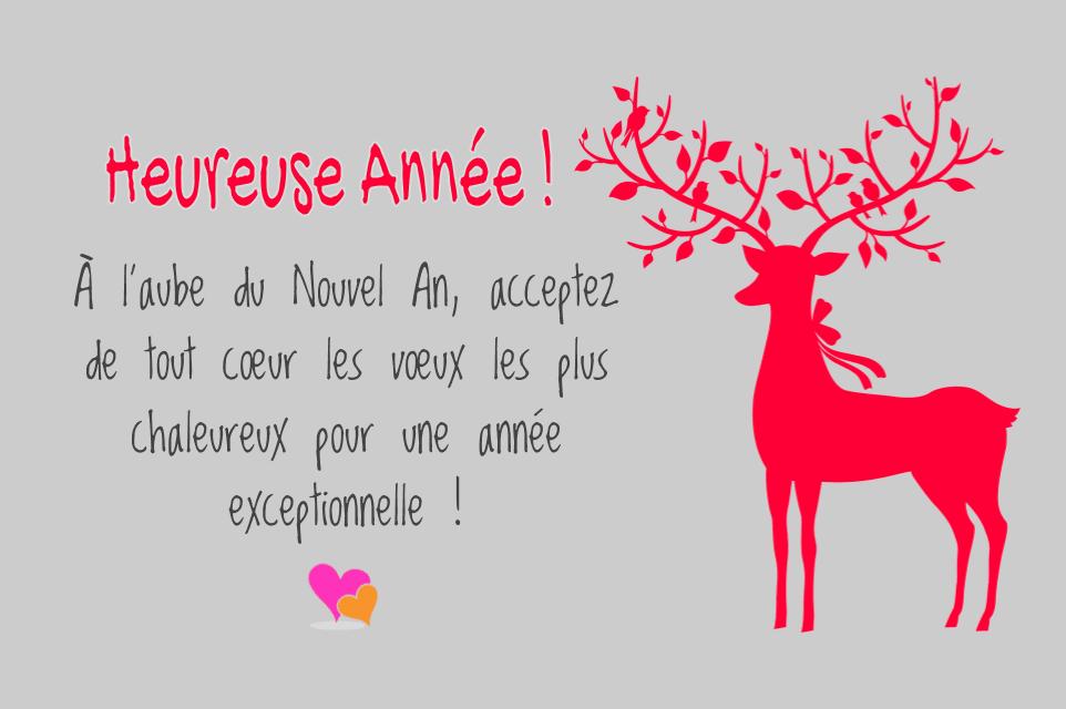 Célèbre Magnifiques Cartes de Vœux pour Noël et Nouvel An | Poésie d'amour GN56