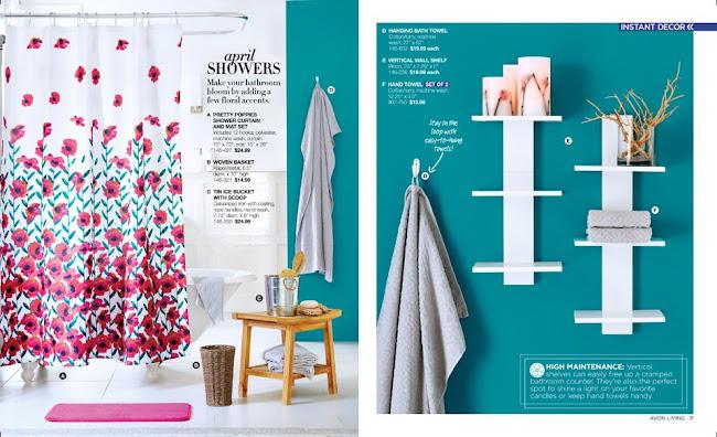 Avon Living Bathroom Decor >>>
