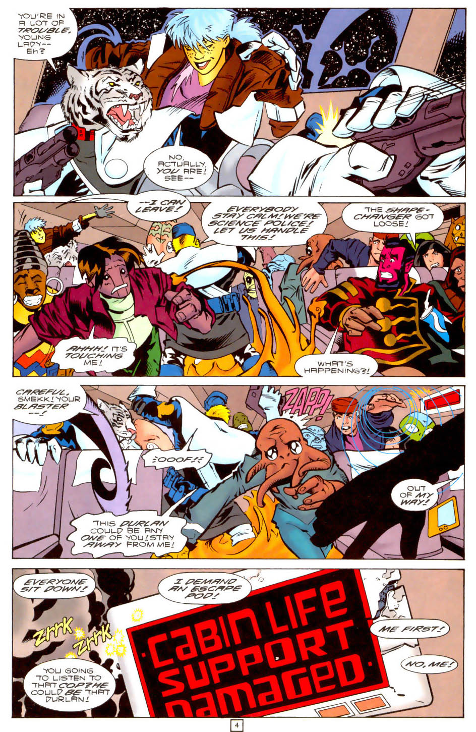 Legion of Super-Heroes (1989) 104 Page 4