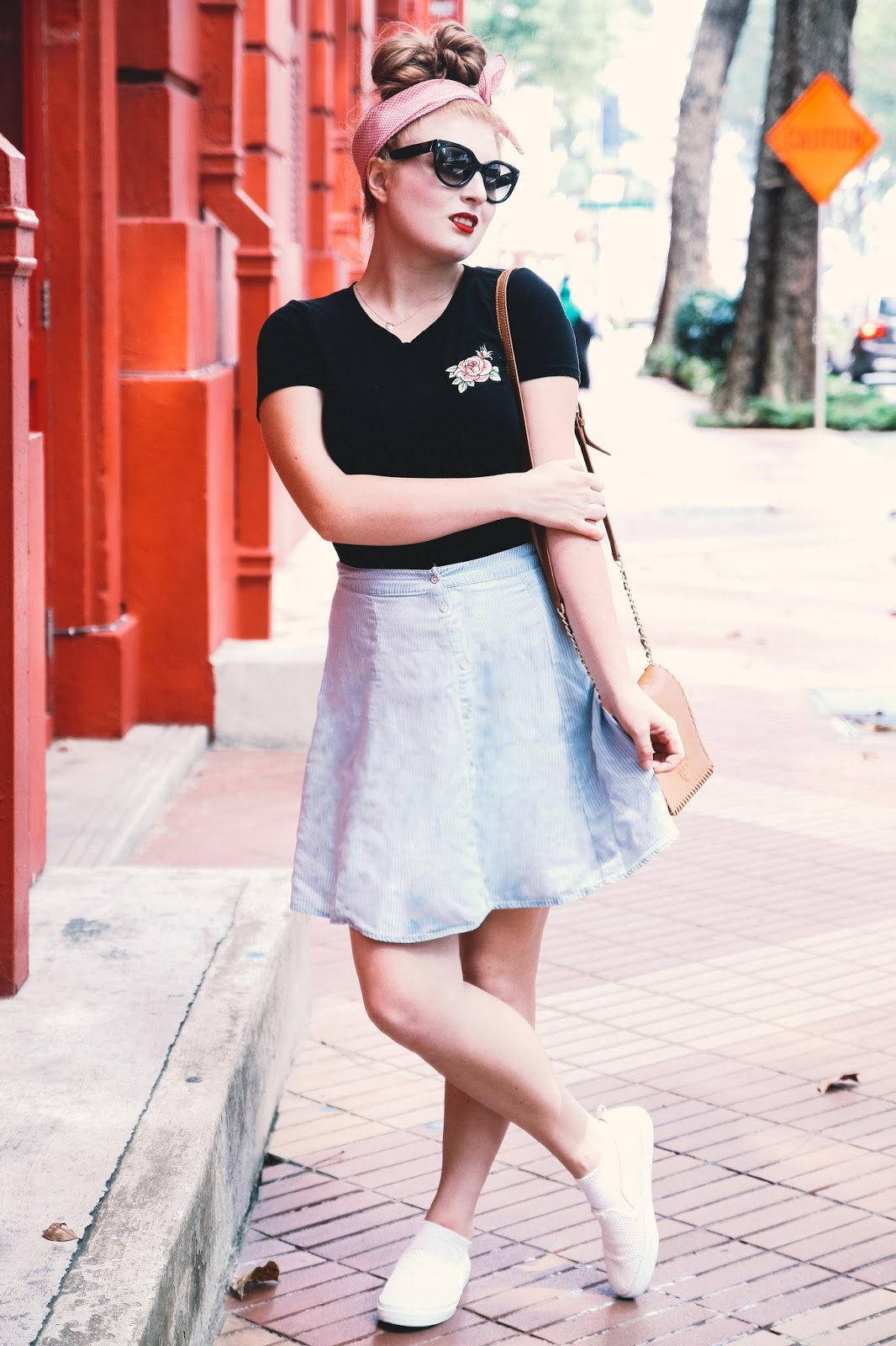 How to style a Rose Embroidered for Spring 2017   Global Fashion Gal #SingaporeFashion #FashionBlogger