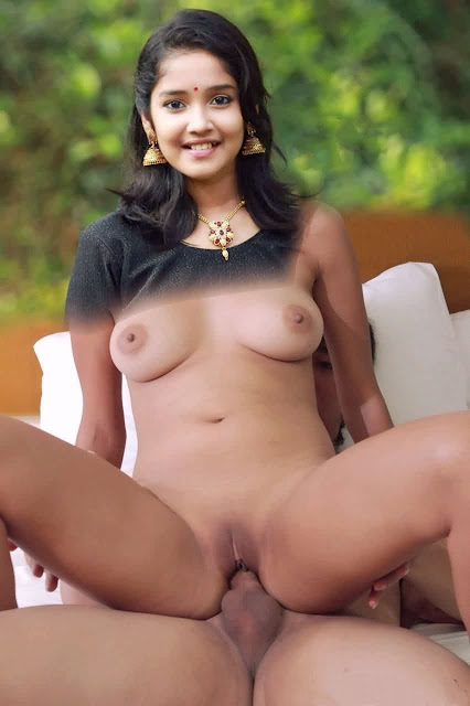 Anikha Surendran fucking nude cock on top nude navel sexy small boobs