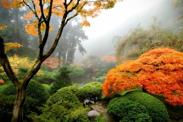 Taman Jepang Portland, Portland, Oregon, Amerika Serikat