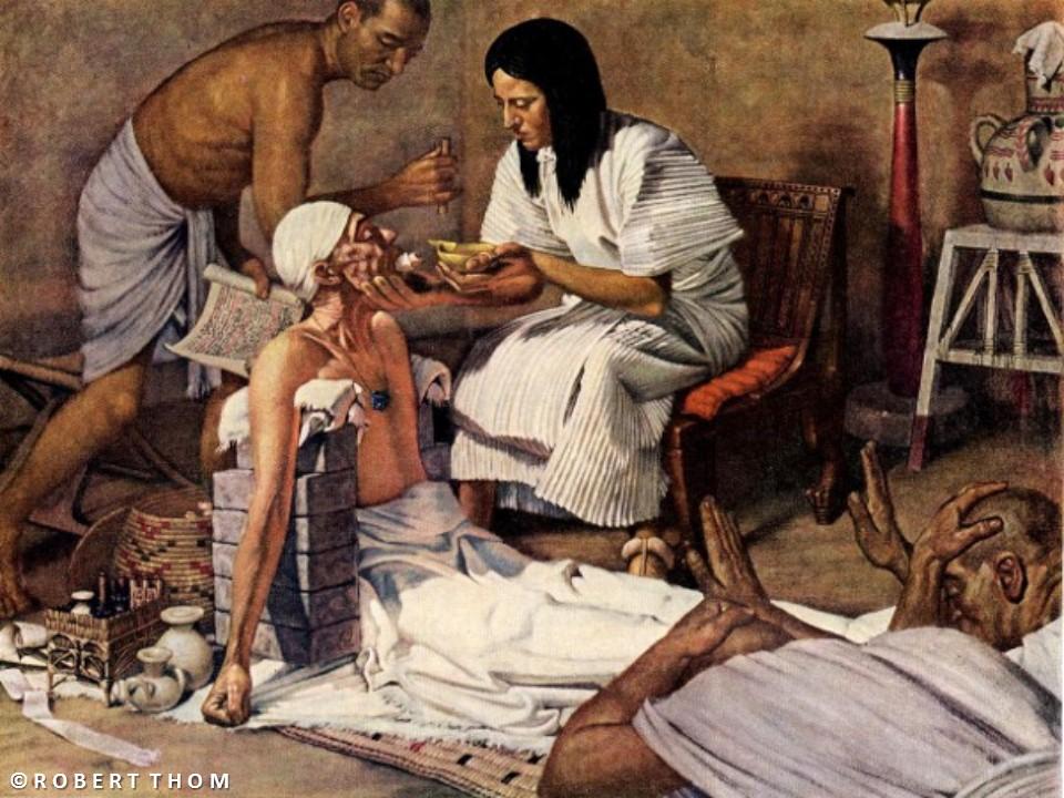 لمحة عن الطب عند المصريين القدماء