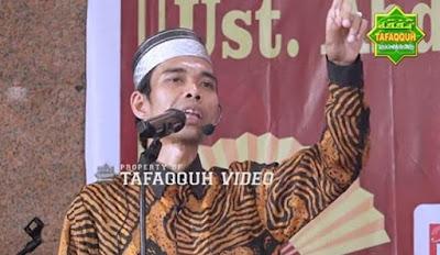 Ustadz Abdul Somad : Orang Yang Tidak Mau Berdo'a Termasuk Orang Sombong