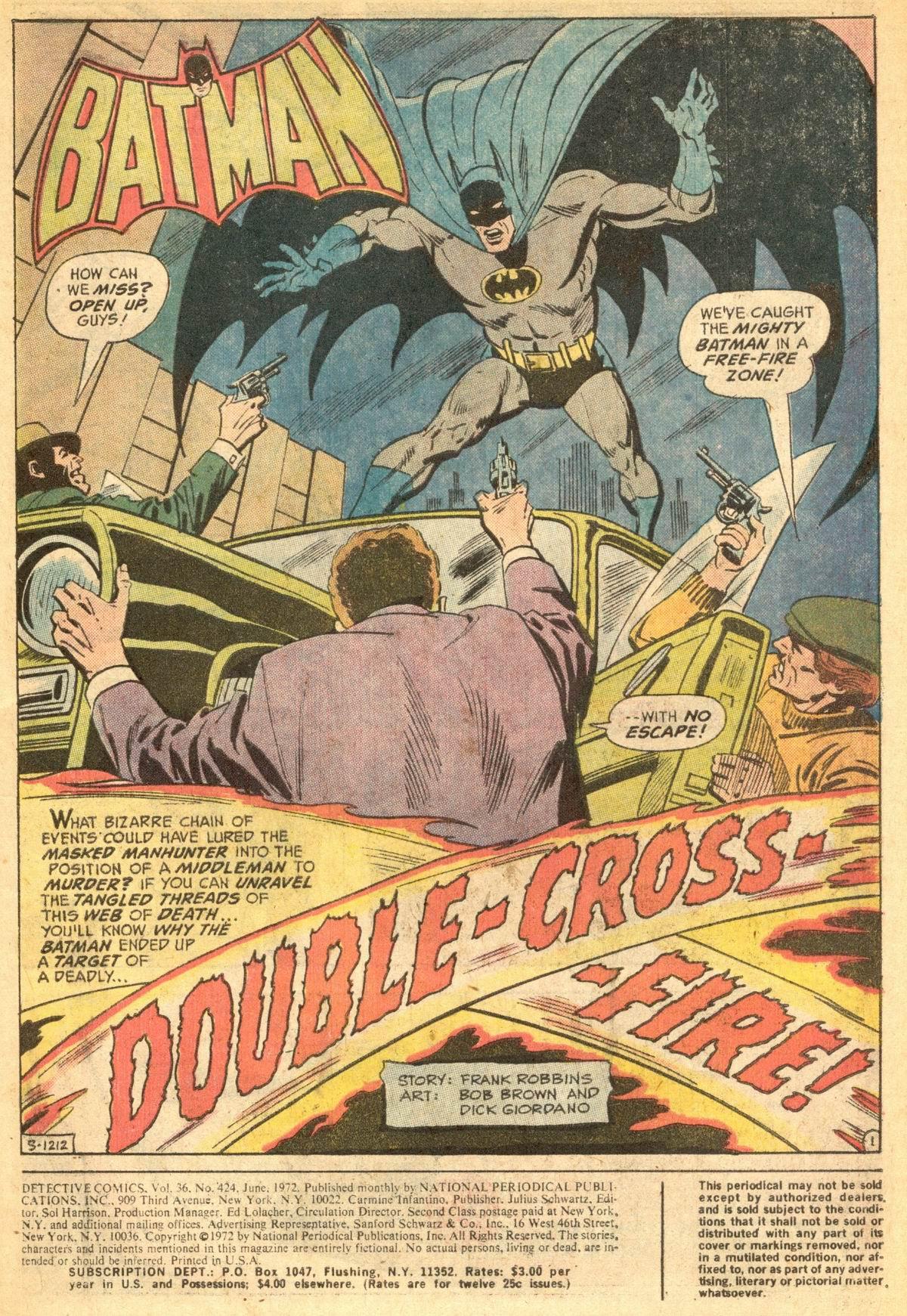 Detective Comics (1937) 424 Page 2