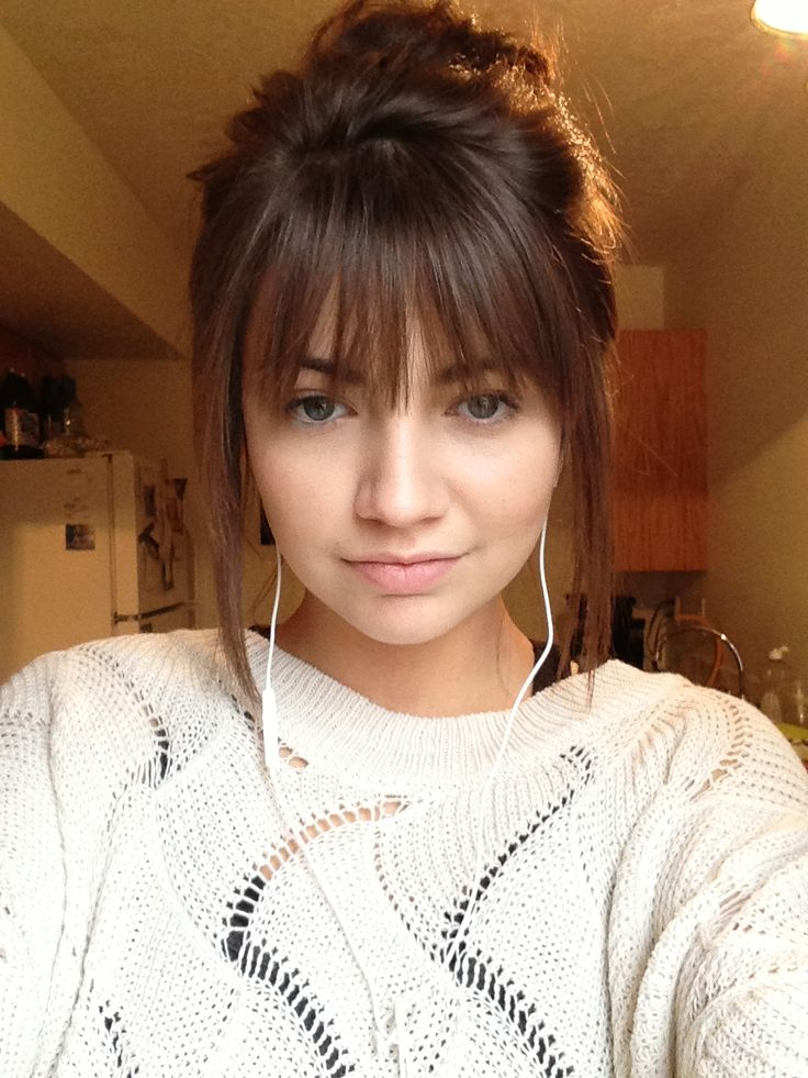 Sweet Beautiful Hairstyles With Bangs The Haircut Web