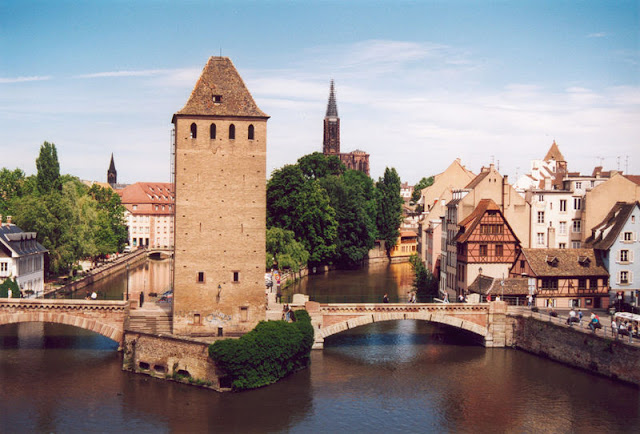 Canales de Estrasburgo en Francia