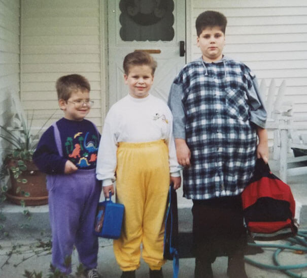 20 Embarrassing Childhood Pictures Of Kids That Look Some Decades Older