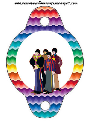 Beatles Yellow Submarine For the straws.