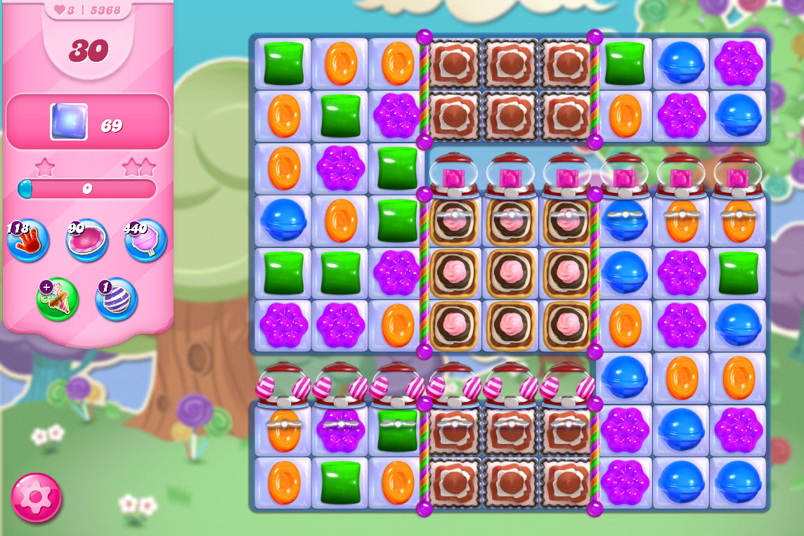 Candy Crush Saga level 5368