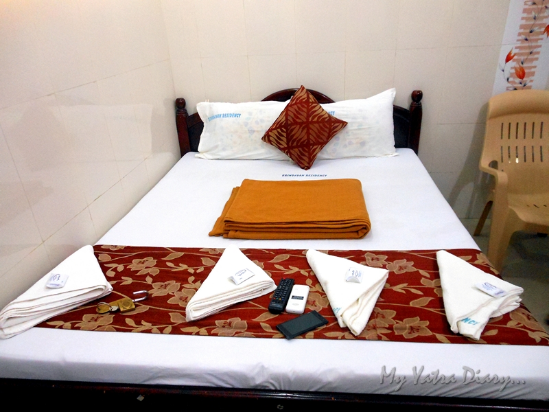 Brindavan Residency room, where to stay in Rameshwaram