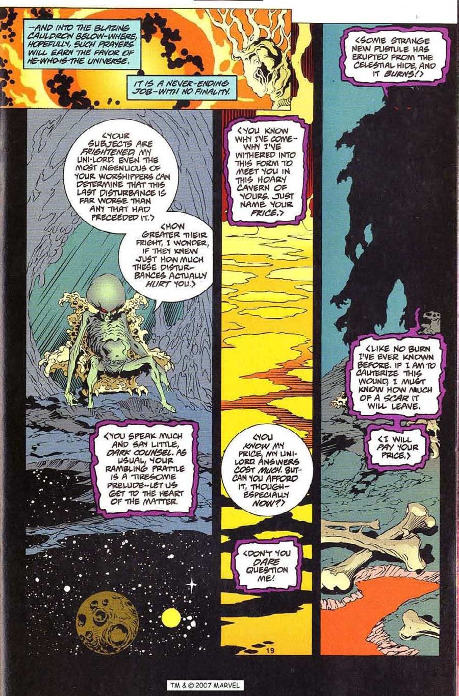 Silver Surfer (1987) Issue #112 #120 - English 21