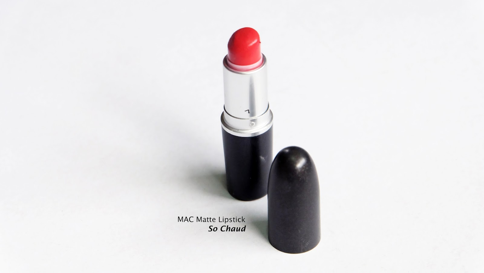 Best Orange Lipsticks swatches product review MAC So Chaud Lipstick