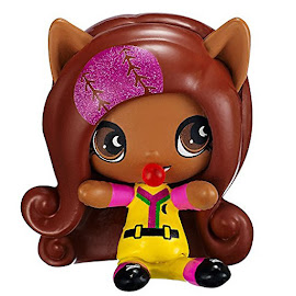 MH Sporty Monsters Ghouls Clawdeen Wolf Mini Figure