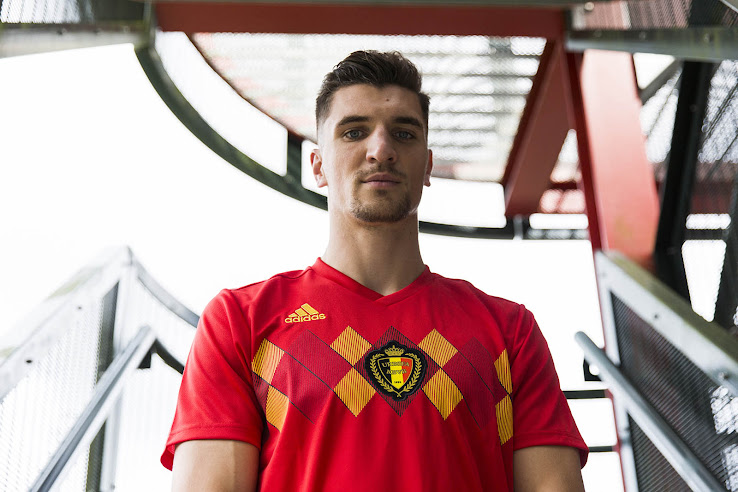 9dcdaeb1afc Belgium 2018 World Cup Home Kit Released - Footy Headlines