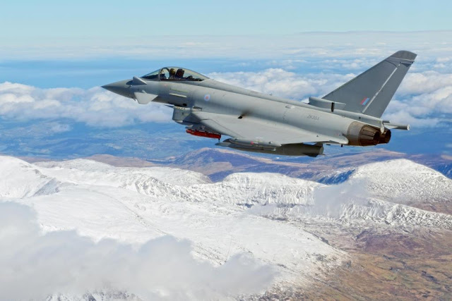 RAF Typhoon Air Policing Iceland 2019