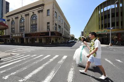 Honolulu Crosswalk