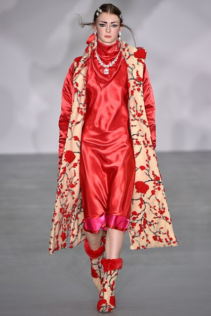 Ryan Lo Autumn-Winter 2016-17 London Fashion Week catwalk show | LFW blog | UK style blogger