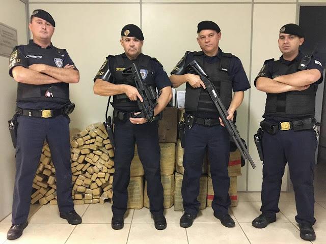 Guarda Civil Municipal faz apreensão histórica de drogas em Araras, SP