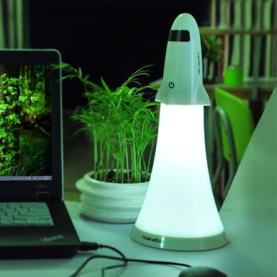Rocket Desk Lamp