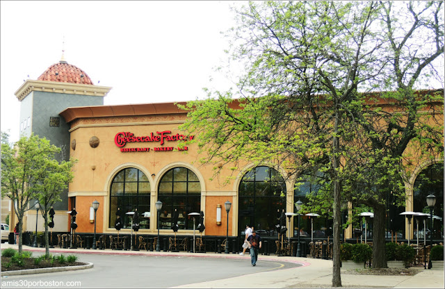 The Cheesecake Factory: Restaurantes Americanos