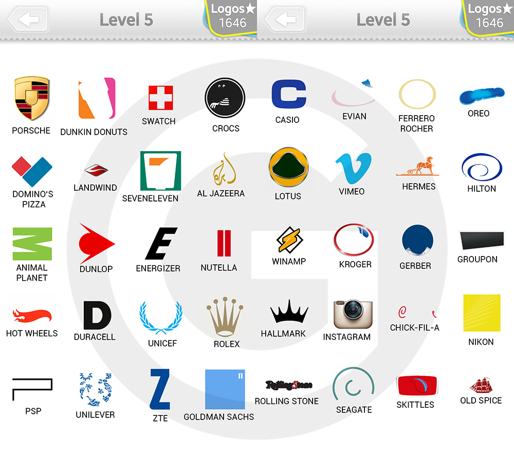 the gallery for gt logo quiz answers level 24
