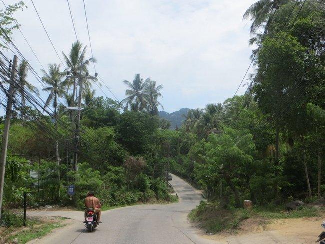Скутер по дороги