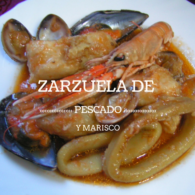 Zarzuela de pescado y marisco - Morrico Fino