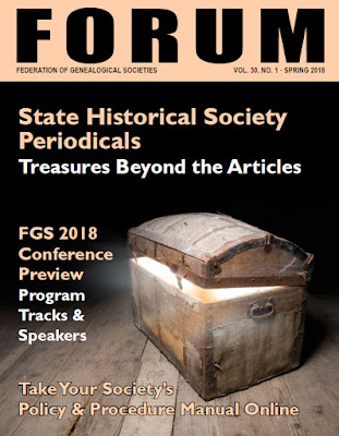 Spring 2018 Issue of FORUM is Available
