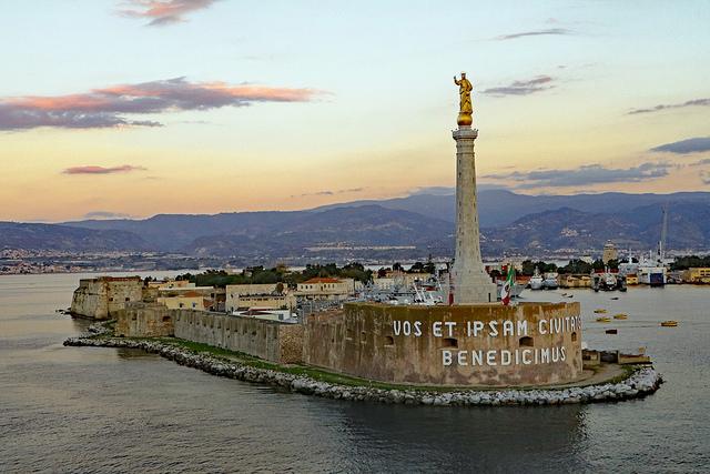 Licence this image of Madonna Della Lettera - Sicily