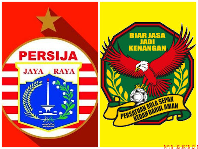 Live Streaming Persija Jakarta vs Kedah Suramadu Super Cup 9 Januari 2018