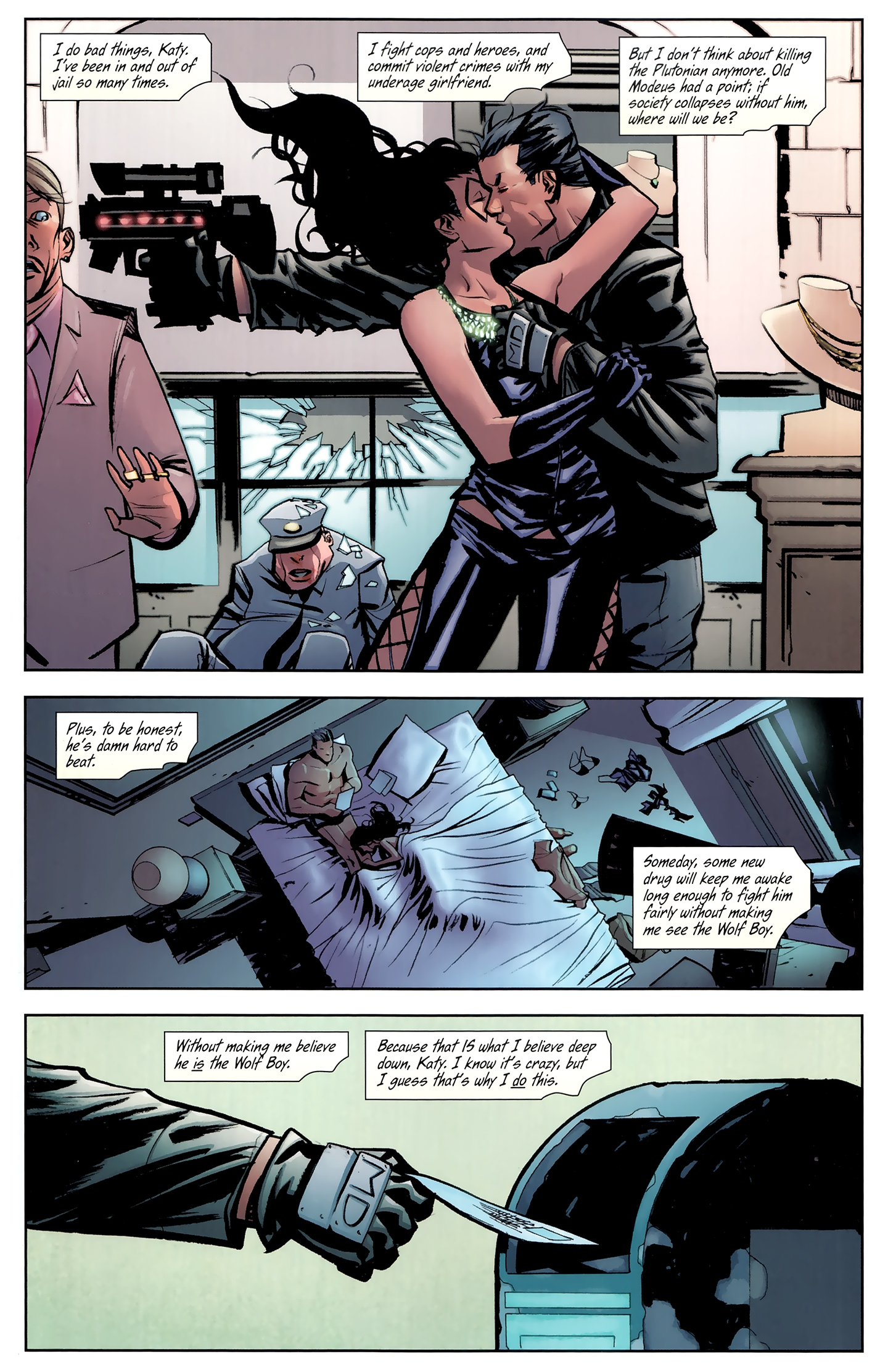 Read online Incorruptible comic -  Issue #26 - 20