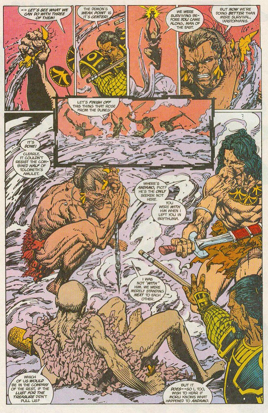 Read online Conan the Adventurer comic -  Issue #13 - 8