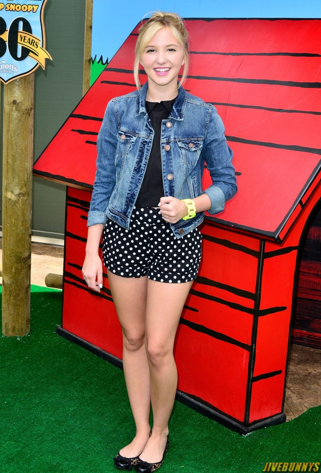 Audrey Whitby at Camp Snoopy's 30th Anniversary VIP Party at Knott's Berry Farm in Buena Park 6/26/14