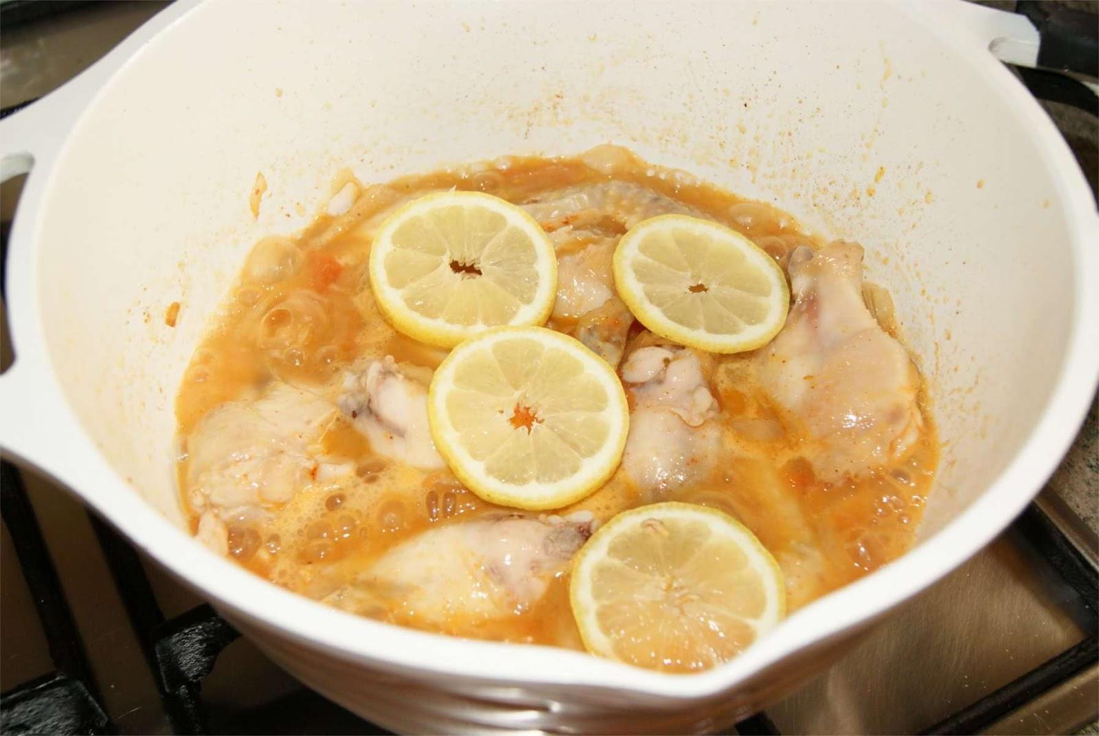 Alitas de pollo al limon paso 5