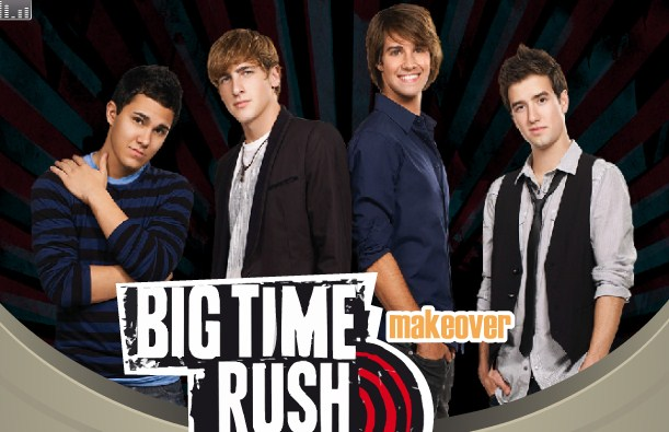 Big Time Rush Makeover game