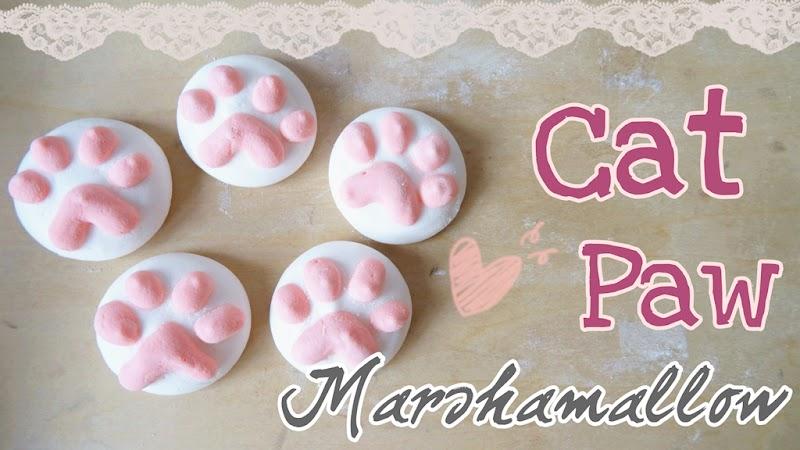 Cat Paw Marshmallows 貓肉球棉花糖