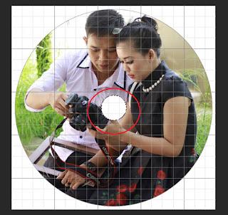 membuat label cd/dvd keren