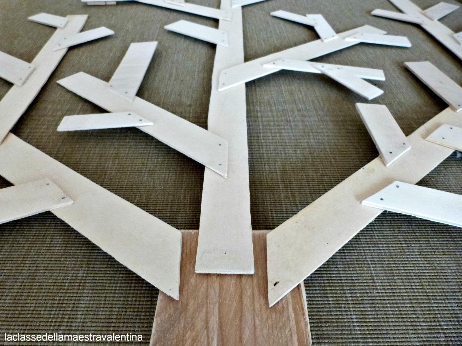 La classe della maestra valentina l 39 albero delle stagioni - Rami di legno decorativi ...
