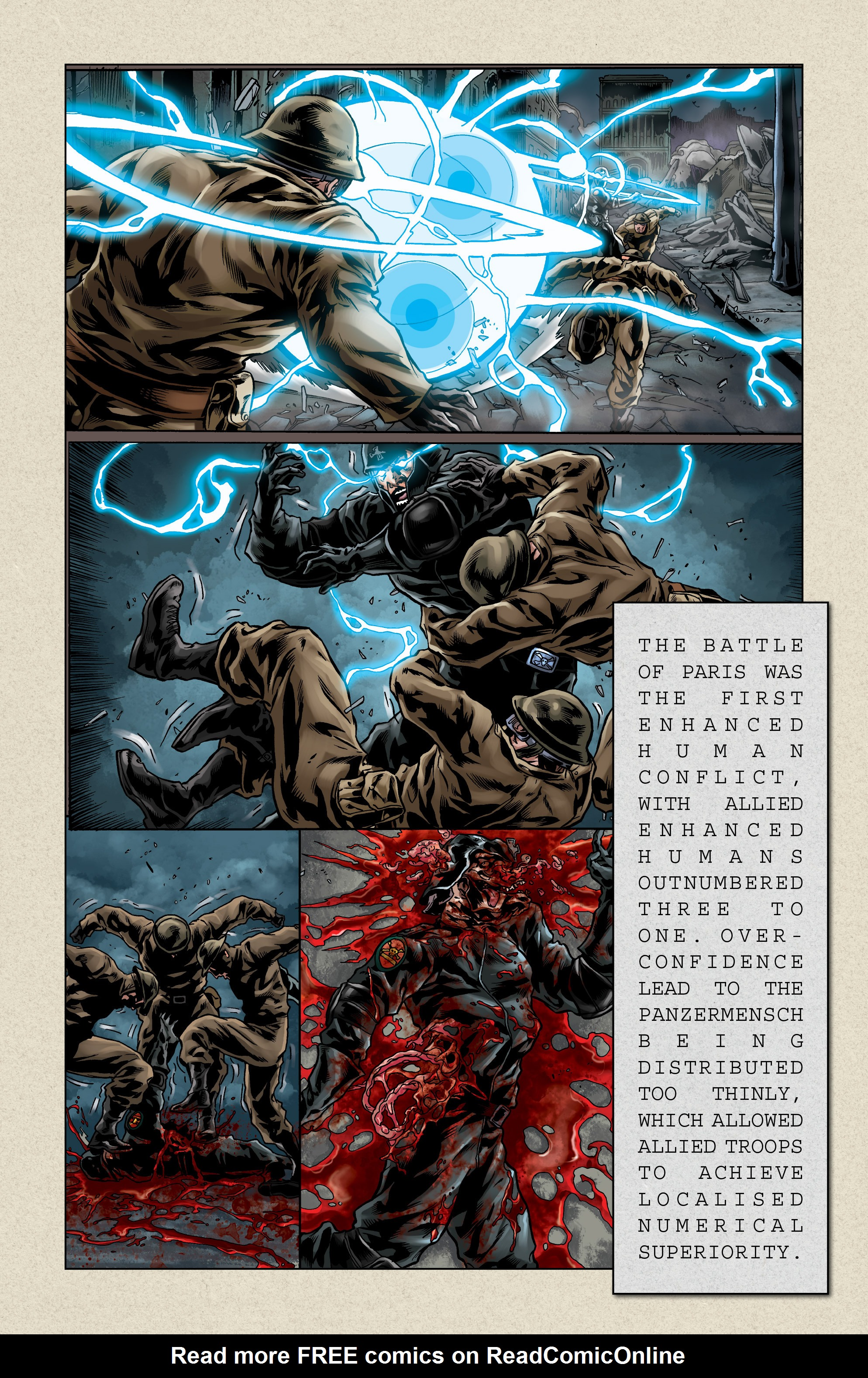 Read online Uber comic -  Issue # _FCBD - The First Cycle - 21