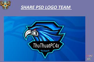 Share PSD Logo Team Khá Đẹp