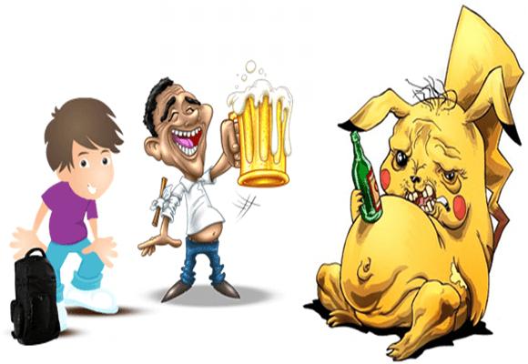 Carnaval-Pikachu-bêbado