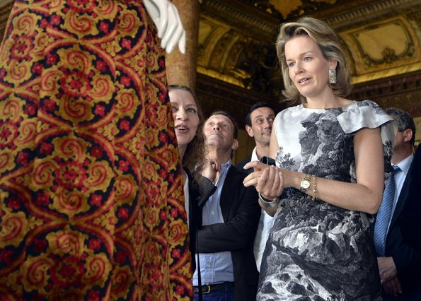 Crown Princess Mathilde attended a meeting on 'Women Empowerment