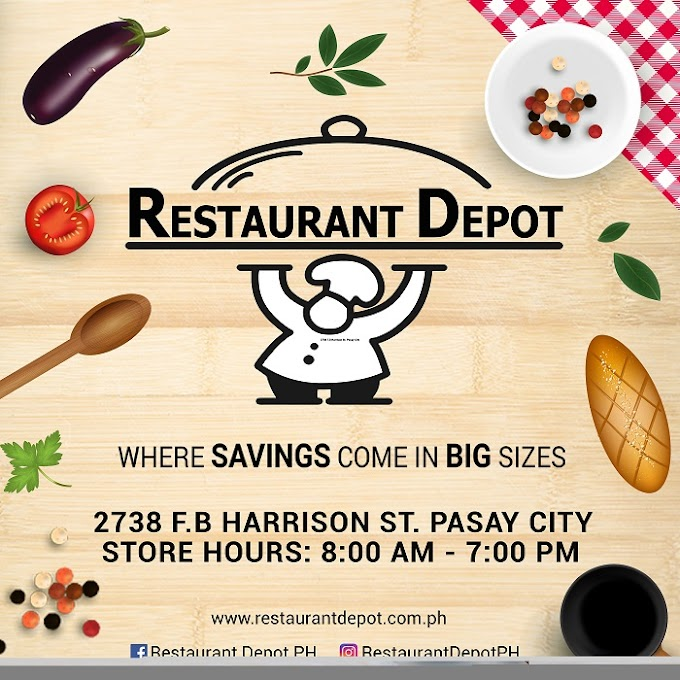 Restaurant Depot PH, your one-stop-shop warehouse club!