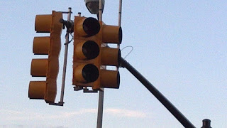 Traffic Light with No Power