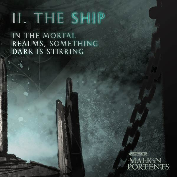 Malign portents ii the ship faeit 212 warhammer 40k for Portent warhammer