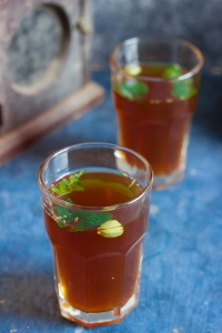 Traditional South Indian summer cooler