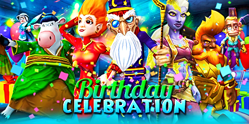 Frostcaller Wizard101s 9th Birthday Celebration