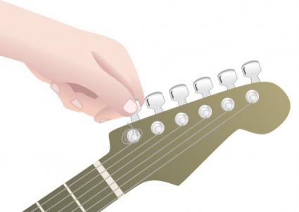 Hưỡng Dẫn Thay Dây Đàn Guitar Điện Chi Tiết